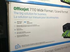 New, Sealed, HP Officejet 7110 H812a Large Format Inkjet Printer, Wide Format