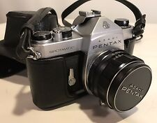 Exc+++ Asahi Pentax Spotmatic SP 35mm SLR w/Super Takumar 50mm/ F1.4 from Japan