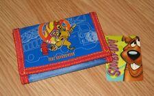 Cartoon Network Scooby-Doo Fire Department Kid's Bi-Fold Hook & Loop Wallet