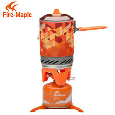 Fire Maple FMS-X2 Cooking System Portable Best Propane Gas Stove Burner 1L 600g