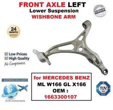 Essieu avant inférieur gauche Wishbone Bras pour MERCEDES ML W166 Gl X166 OE: 1663300107