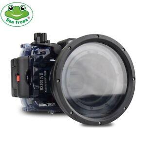 Seafrogs 60m Unterwasser Kamera Tauchen Gehäuse Case für Sony RX100 VI Mark 6