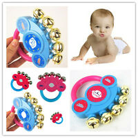 Hand Shaking Bells Rattle Handbell Musical Educational Toys Hot Baby Instrument