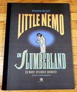 Little Nemo In Slumberland Winsor McCay So Many Splendid Sundays First Edition