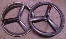 Nimble Crosswind Tri Spoke 3 Wheel Set Rims/Hubs 650c