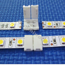 10x led-to-led Connector 2p clip for 10mm width single color 5050/5630 led strip