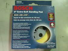 "BOSCH RS030 5"" EXTRA SOFT SANDING PAD NEW/UNUSED"