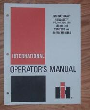 CUB CADET 86 108 128 129 149 & 169 OPERATORS  MANUAL 3
