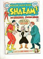 Shazam #10 VF 7.0 1ST DC MARY MARVEL SOLO STORY! WEDDING COVER! LAST BECK 1974