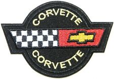 Patch Iron on for CHEVROLET Corvette Car Racing t shirt Cap Sign Badge Emblem