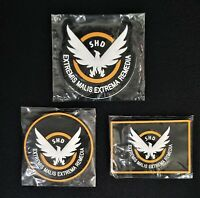 UBISOFT Tom Clancy's The Division 2: SHD Agent Patches Set of 3 - NEW & RARE