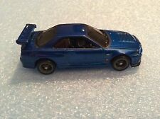HOT WHEELS RETRO NISSAN SKYLINE GT-R R34 FAST & FURIOUS REAL RIDERS LOOSE NEW