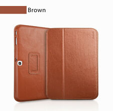 "Executive Real Leather Case for Samsung Galaxy Tab 3 8"" (T310) tan/light brown"