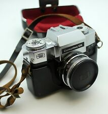 Contaflex 120 Zeiss Ikon Camera with Lenses 135mm All with Cases