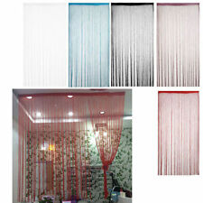 Shaker Style Solid Pattern Window Curtains
