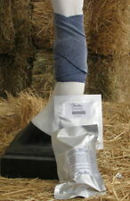 Horse Cool Wrap reusable Bandages x 2 -10cm x 3.2m  plus  2 x 40ml refills