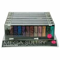 Technic Eye Shadow Palette Mega Sultry 12 Colour Peacock Shade