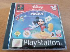 Playstation 1 PS 1 Spiel Disney Frühes Lernen mit Micky