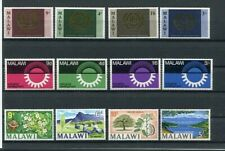 D109967 Malawi Nice selection of MNH stamps