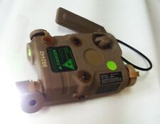 PEQ-15 Battery Case LED Weapon Flashlight Green Laser Wire Remote Control