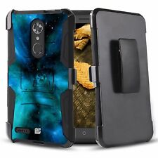 Rugged Case+Holster Clip Cover for ZTE Max XL ZMax Pro 2 Blade Max 3 N9560