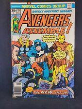 AVENGERS # 151 - (VF-) -NEW AVENGERS LINE-UP-CAPTAIN AMERICA,IRON MAN,THOR,WASP