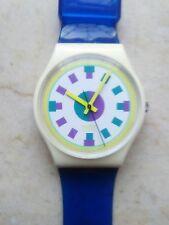 """orologio swatch STANDARD GENT modello """"ALPINE"""" GW 113 anno 1989 USATO"""