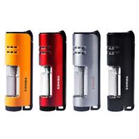 Butane Torch Windproof cigar cigartte Lighter Single Jet Flame Refillable NOGas