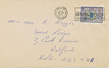 2404 HOUNSLOW / MIDDLESEX / HAPPY CHRISTMAS / POSTMARK-ERROR: INVERTED YEAR!!!