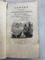CONTES OFFERTS AUX ENFANTS DE FRANCE - J. N. BOUILLY (1830)
