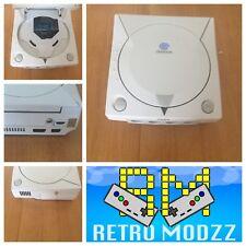 Console Sega Dreamcast Blanc HDMI HiDef 480p gdemu 5.5 picoPSU installé