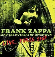 Frank Zappa And The Mothers Of Invention ‎– Live.. Paris 1968 - Vinyl - NEW