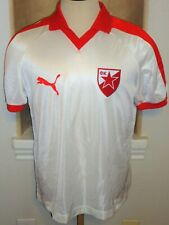 VTG PUMA YUGOSLAVIA RED STAR BELGRADE PROSINECKI #7 SOCCER JERSEY FOOTBALL SHIRT