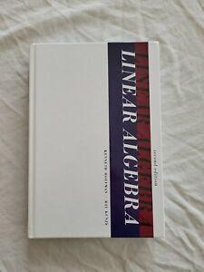 Linear Algebra 2nd edition by Kunze, Hoffman