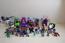 Huge Lot Fisher Price Imaginext DC Super Hero's / Villians Figures & Vehicles