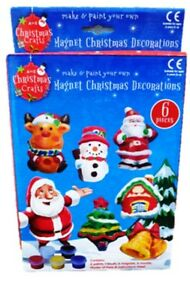 Christmas Crafts Make & Paint Your Own Christmas Decorations - New