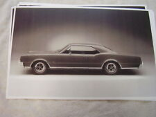1967 OLDSMOBILE  442 HARDTOP SIDE VIEW  11 X 17  PHOTO  PICTURE