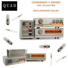 QUAD 303 Amplifier REPLACEMENT BULBS - complete set -- US SELLER