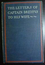1899 The Letters of Captain Dreyfus to His Wife Dreyfus Affiar