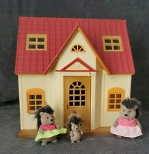 Lil' Woodzeez Cozy Cottage /Calico Critters House with McBristly Porcupines