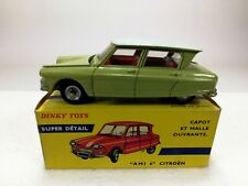 French Dinky Toys 557 Capot Et Malle Ouvrante AMI 6 Citroën