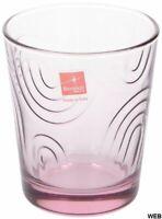 Confezione 6 bicchieri in vetro rosa Arches 295ml Bormioli