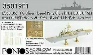 PONTOS MODEL 1/350 USS OLIVER HAZARD PERRY CLASS DETAIL SET FOR ACY 350191