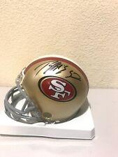 Patrick Willis Signed San Francisco 49ers Mini Helmet AMSM