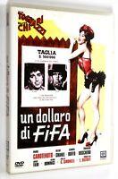 DVD UN DOLLARO DI FIFA 1960 Commedia Tognazzi Chiari Carotenuto