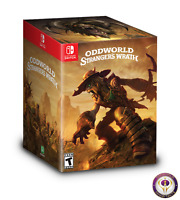 Limited Run Oddworld Strangers Wrath HD Collectors Edition Nintendo Switch USA