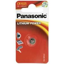 2 x Panasonic CR1025 Blister DL1025 CR1025 Lithum 3V Batterie Uhr