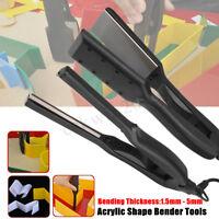 Acrylic Shape Bender Right Angle Bender Bending Electric iron Tool Kit 100-240V