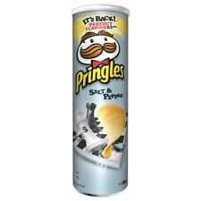 PRINGLES SALT PEPPER - 190G - LIMITED EDITION - POTATOE PERFECT CHIPS