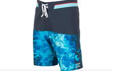 BILLABONG MEN'S SHIFTY X WASH BOARD SHORTS SWIM TRUNKS NAVY BLUE SIZE 31 NEW $64